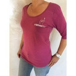 Tee- shirt femme manches...