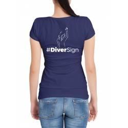 Tee- shirt femme diver back