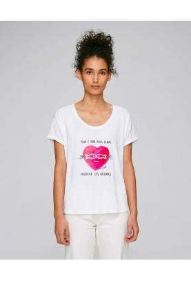 """Tshirt femme """"Protège les..."""