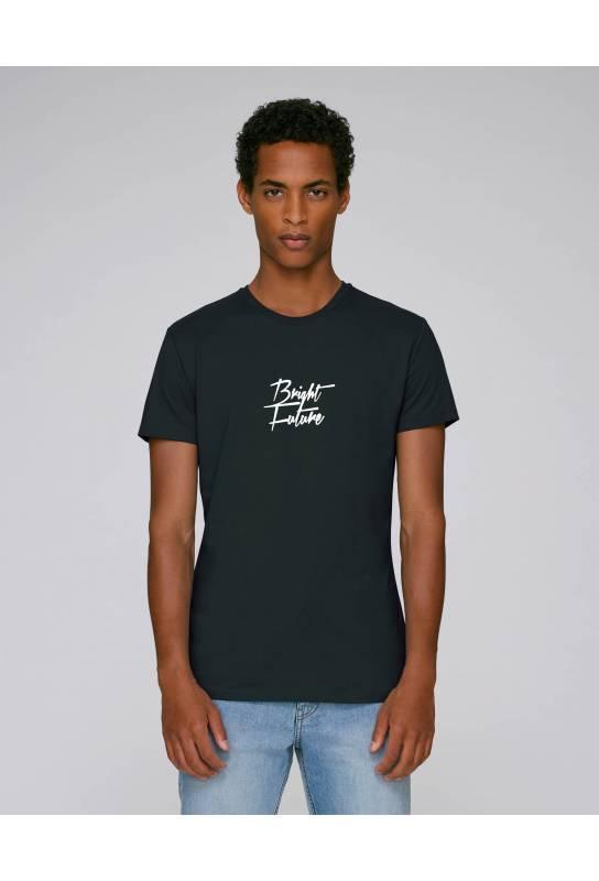 Tshirt éthique en coton bio Bright Future modèle jeune créateur