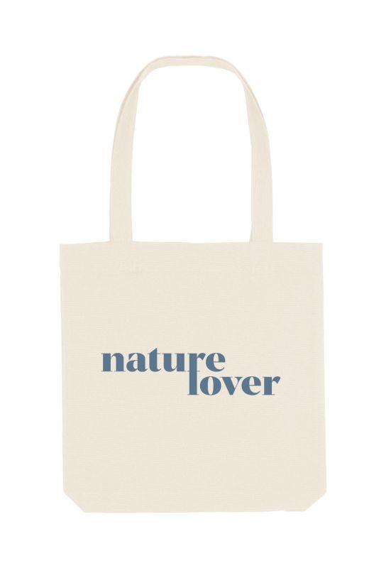 Tote bag éthique 100% recyclé Nature Lover