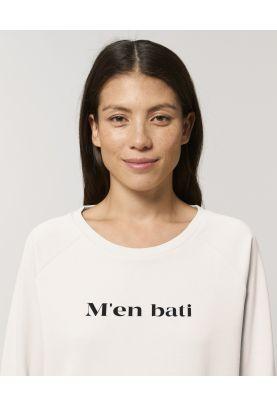 M'EN BATI sweat loose femme