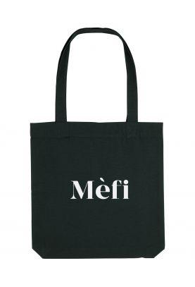 Tote bag éthique 100% recyclé Mèfi, Issa Nissa