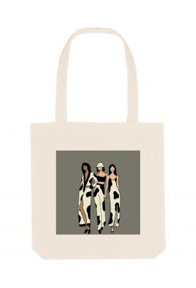 Tote bag éthique Fashion is...