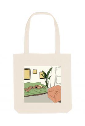 Tote bag éthique Love my home