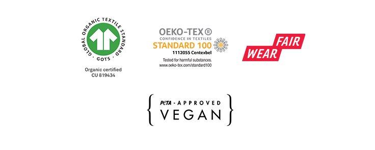 Vêtements BIO, étiques, végan (labels de certification)
