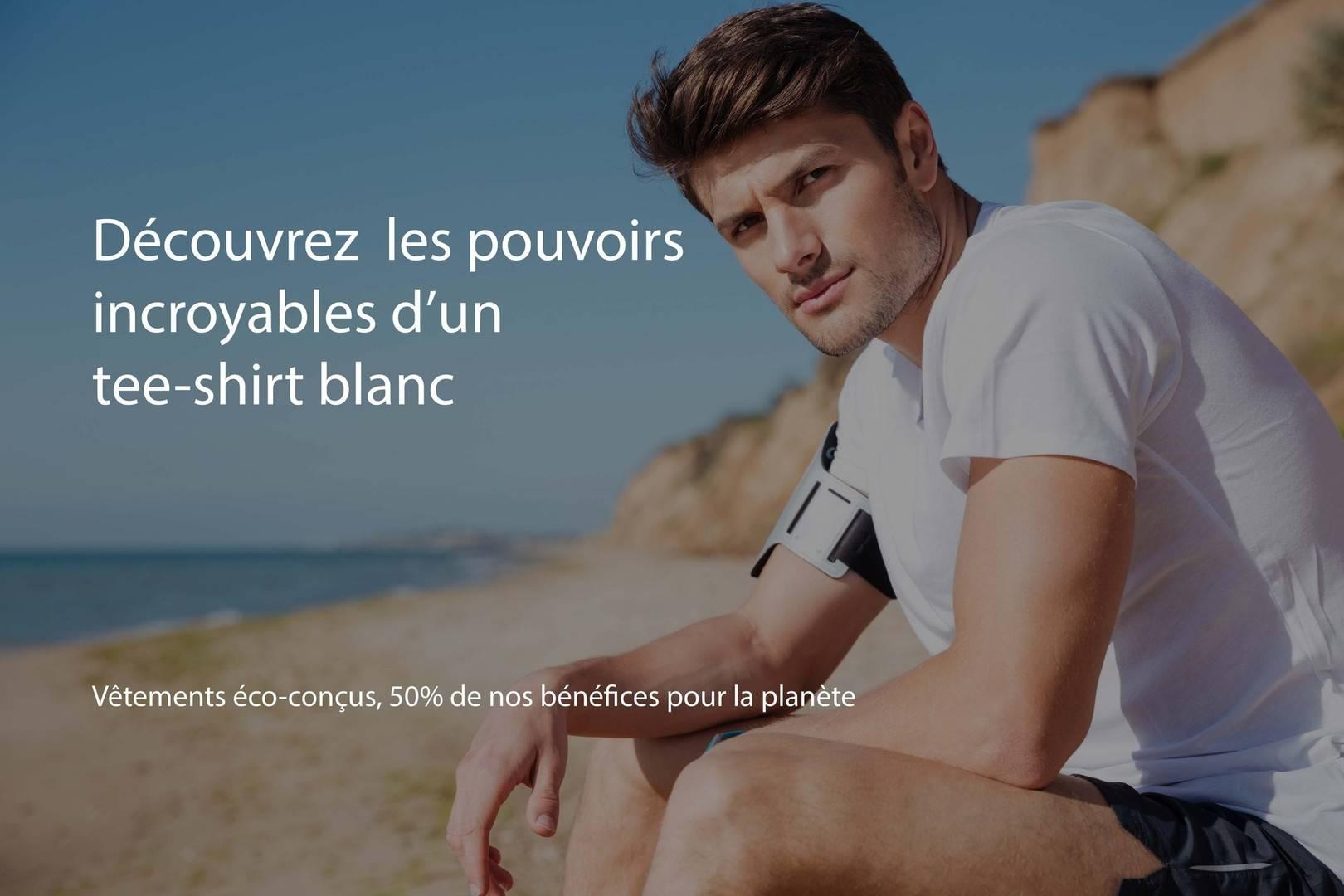 Découvrez les pouvoirs incroyables d'un tee-shirt blanc
